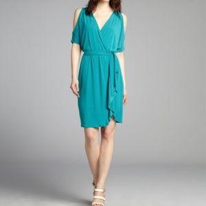 Max & Cleo Mini Dress Teal Green XS